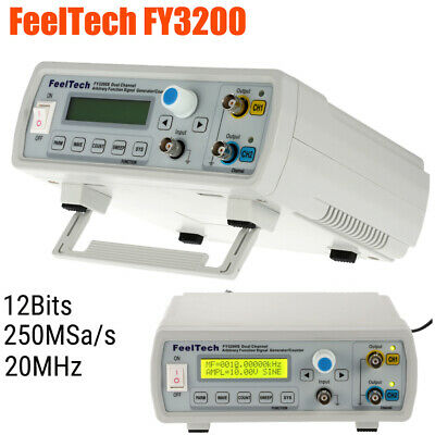 Fy3200 20m Dual-channel Arbitrary Waveform Dds Function Signal Generator E9a0
