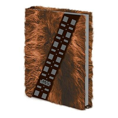 Genuine Lucasfilm Star Wars Chewbacca Fur A5 Hardback Journal Notebook Note Pad