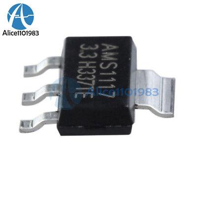 10pcs Ams1117 Lm1117 5v 1a Sot-223 Voltage Regulator New
