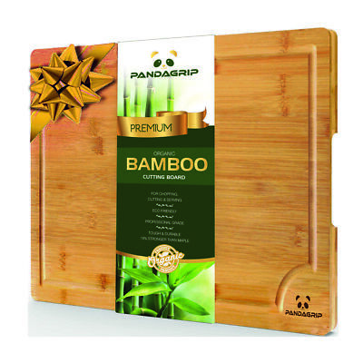 Cutting board wooden kitchen Chopping board bamboo anti-bacterial Eco-friendly ()