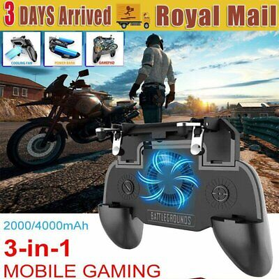 Gaming Joystick Trigger Controller Mobile Handle Holder For Phone PUBG Fortnite