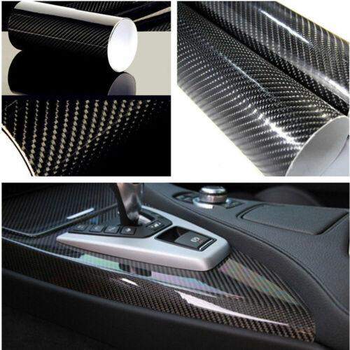 Película de vinilo de fibra de carbono Car Interior Wrap Sticker Auto Accesorios