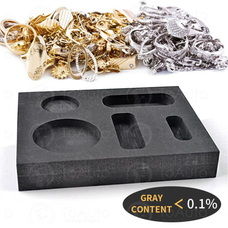 Graphite Ingot Mold Bar Mould Jewelry Tool for Gold Metal Melting Casting