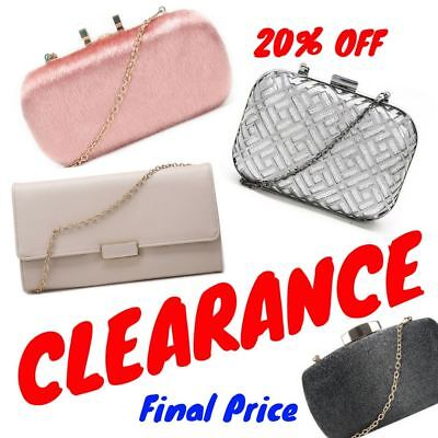 20% OFF Womens Evening Bag Sale Ladies Clutch Bag Clearance