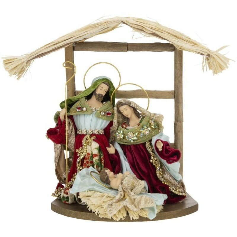 Mark Roberts 2020 Collection Nativity Stable, Small 13x13 Inches Figurine