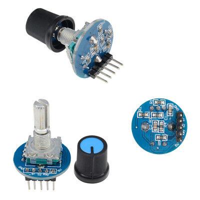 5v Rotary Encoder Rotating Potentiometer Arduino Knob Cap Digital Control Module