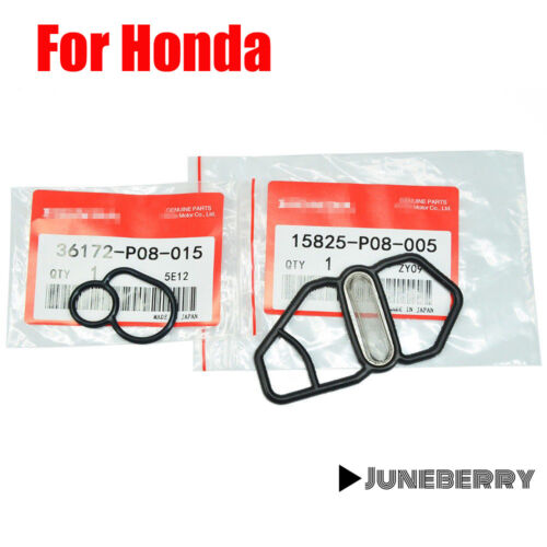 For Honda Si B16A2 GSR B18C1 Type R B18C5 DC Upper /& Lower VTEC Solenoid Gasket