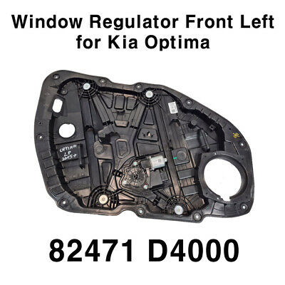 OEM Front Power Window Regulator Left Door 82471D4000 for KIA Optima 2016-2021