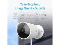 YI Outdoor Camera 1080p Waterproof Night Vision Cloud wifi NEW WARRANTY