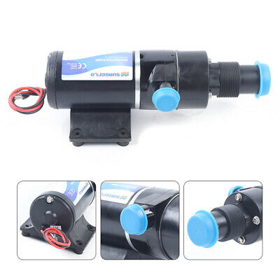 12v Rv Waste Water Pump Macerator Single Suction Sewerage Pump For Yacht Toilet