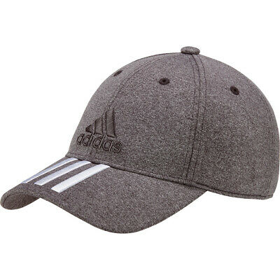 adidas Baseball Classic Melange Cap 6 Panel 3 Stripes dunkelgrau meliert Mütze