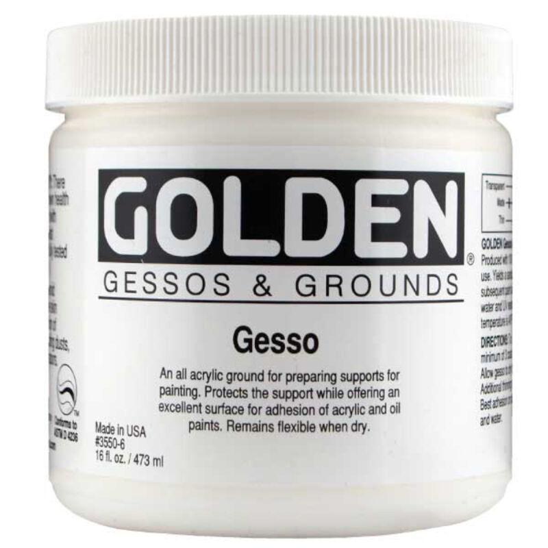 Golden Acrylic 16 Oz Gesso