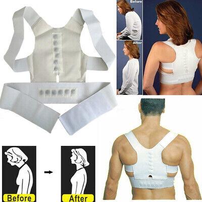 Unisex Adjustable Posture Corrector Back Support Straight Holder Body Brace Back