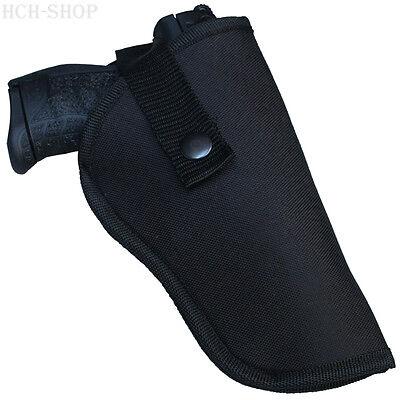 COPTEX Gürtelholster für Pistolen & Revolver klein mittel groß mit Halteriemen (Holster Revolver)