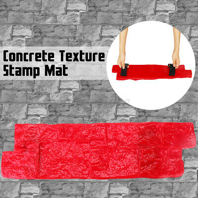 Vertical Stamp Stone Decorative Concrete Cement Imprint Wall Texture Stamp Mold