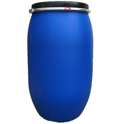 120 Liter Kunststoff-Deckelfass Weithalsfass