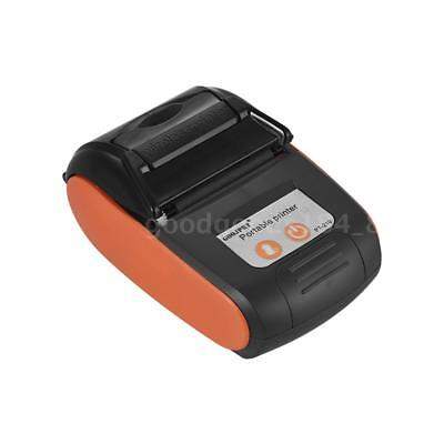 Goojprt Pt-210 Portable Thermal Printer Handheld 58mm Receipt Printer For Pos