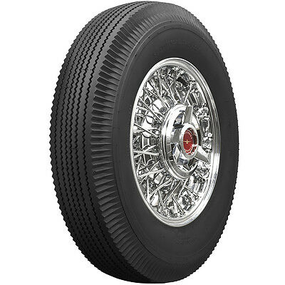 670-15 Universal Bias Ply Black Wall Tire Ford, Chevy, Antique Car