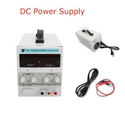 30v 10a Variable Adjustable Digital Stabilizer Dc Power Supply Lab Grade 110v