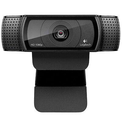Logitech C920 HD Pro Webcam Full 1080P Widescreen Video Calling and Recording