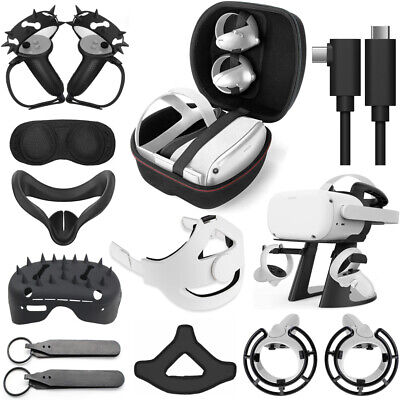 Accessories For Oculus Quest 2 All-in-One Virtual Reality Gaming Headset lot
