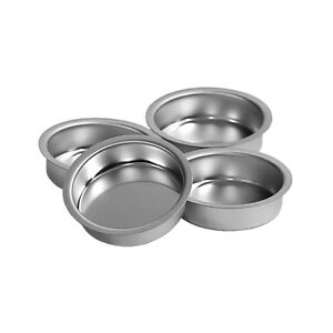 Porte-bougies-argent-40mm-plat-Support-De-Chauffes-plats-Pour-la-norme