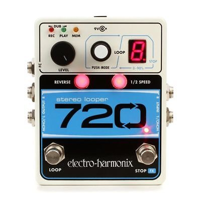 Electro-Harmonix 720 Stereo Looper Stereo Recording Looping Pedal Priority Ship!