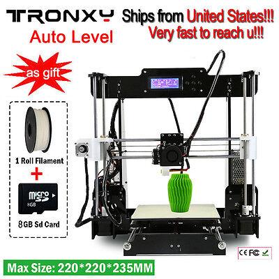 Easy-Assemble Tronyxy 3D Printer Big Size High Precision Reprap Prusa i3 DIY US
