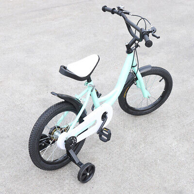 16 inch children's bicycle for girls&boys from 4-8 years + non-slip stabilisers