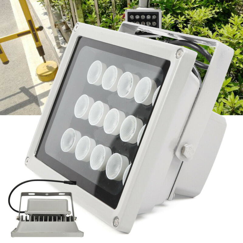 10x15 LED IR Infrared Night Vision Light illuminator Lamp For CCTV Camera DC 12V