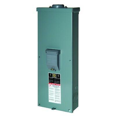 Square D Main Breaker Box Kit 2-pole 200 Amp 22ka Interruption Rating