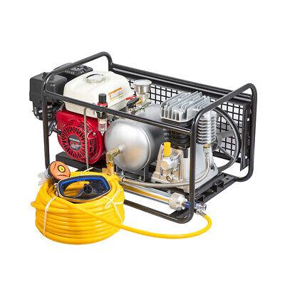 Scuba Diving Air Compressor Honda Gasoline W15ft Hoseregulator For Aquaculture