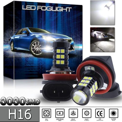 H16 5202 LED Fog Lamp DRL For 2014-2017 Toyota Corolla 4Runner Yaris Tundra RAV4