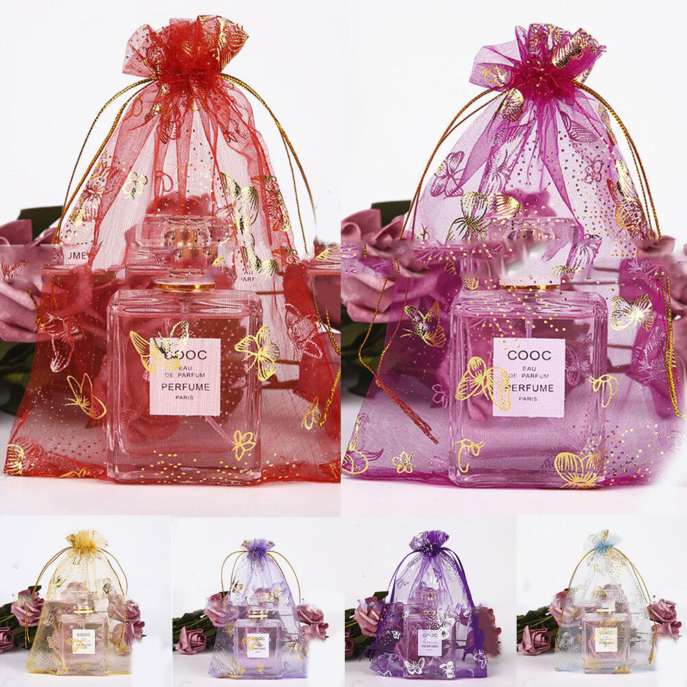 Drawstring Organza Bag For Wedding Favor Jewelry Candy Pouch Bags ...
