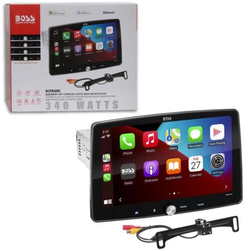 "BOSS BCPA10RC 1DIN 10.1"" Car Stereo Apple Carplay Android Bluetooth w/ Camera"