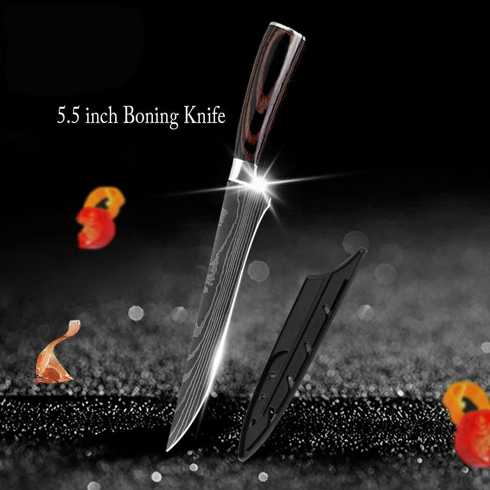 5.5 inch Kitchen Chef Boning Knife Damascus Pattern High Car