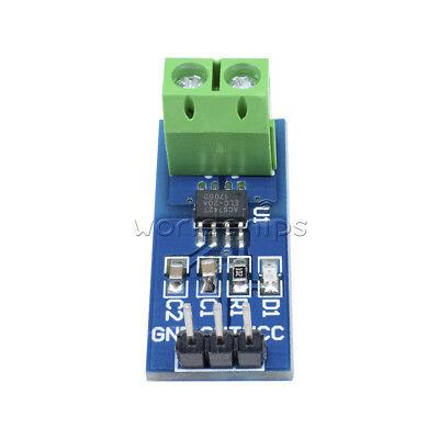 20a Acs712 Module 5v Measuring Range Current Sensor Hall Board For Arduino New
