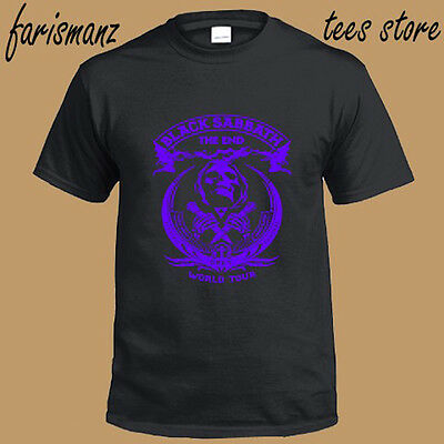 New BLACK SABBATH THE END TOUR 2016 ROCK BAND Men's Black T-Shirt Size S-3XL