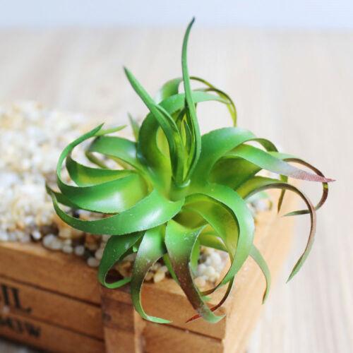 Details About Artificial Fake Flower Succulents Floristry Decoration Plastic Plant Table Decor
