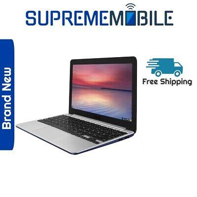 Brand New Asus Chromebook C201P - 11.6 Inch - Blue - 16GB - eMMC 2GB RAM - WiFi
