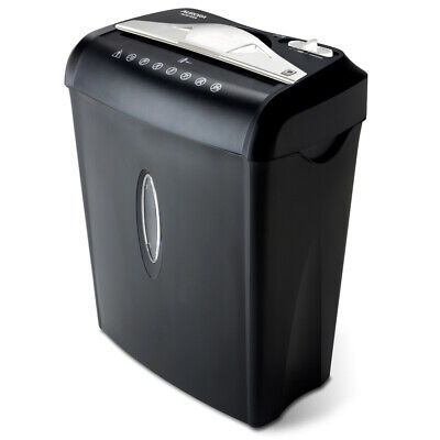 Aurora Au875xa 8-sheet Crosscut Paper And Credit Card Shredder