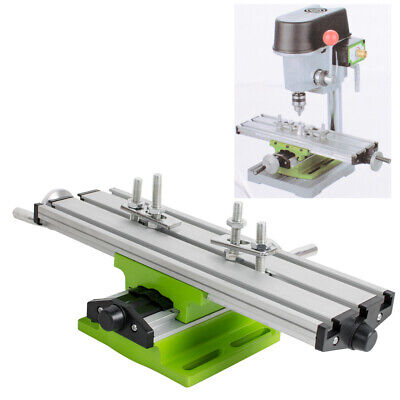 Mini Compound Bench Drilling Slide Table Worktable Milling Working Cross Table