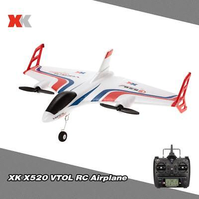 XK X520 2.4G 6CH 3D/6G Airplane VTOL Vertical Takeoff Land RC Drone P7U4