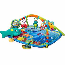 Baby Einstein Neptune Nautical Friends Play Gym.baby mat