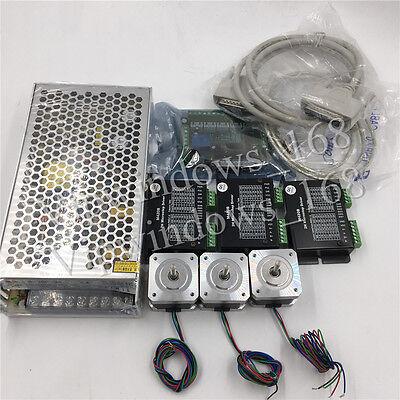 3axis Stepper Motor Kit Nema17 0.5n.m Cnc 3d Printer Xyz Axis Controlbreakout