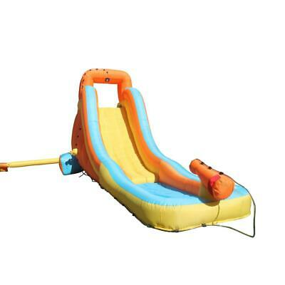 Outdoor Water Slide Durable Polyester Inflatable Bounce House with Water Cannon