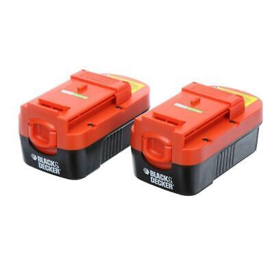 Battery 2 Pack BLACK+DECKER 18-Volt Trimmer Rechargeable Outdoor Power Tool - Black & Decker Rechargeable Battery