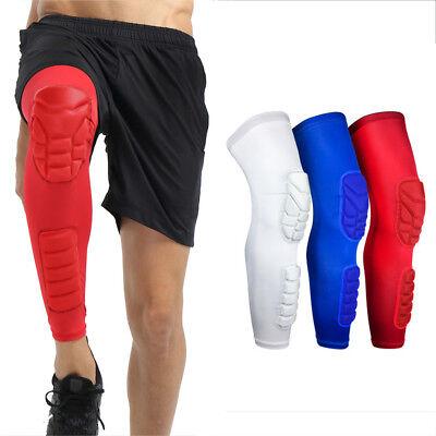 Sports Knee Pads Basketball Long Sleeve Knee Calf Anti-collision Protective Gear