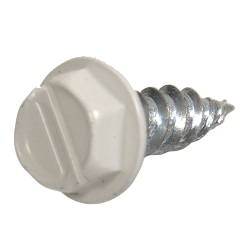 White Fas-Pak 9495 7 x 1//2-Inch Gutter and Stovepipe Assembly//Repair Screw