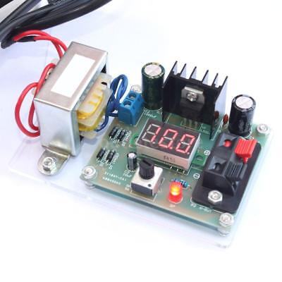 1.25v-12v Continuously Adjustable Regulated Voltage Power Supply Diy Kit W3b3